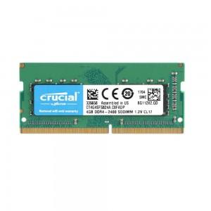 RAM CRUCIAL 4GB DDR4 2400MHz SODIMM C17