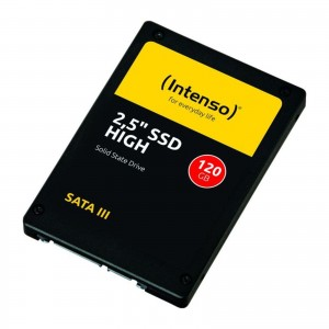 SSD INTENSO HIGH 120GB 2.5'' SATA3