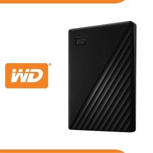 EXT HDD WD 2.5'' 1TB MY PASSPORT USB 3.2 BLACK