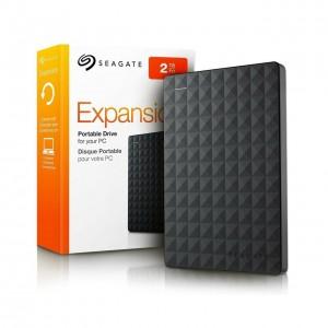 EXT HDD SEAGATE 2TB 2.5'' STEA2000400 USB3 BLACK