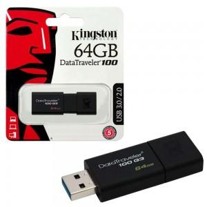 USB RAM KINGSTON DT-100 G3 64GB USB3.0