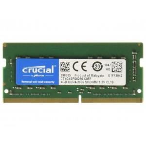 RAM CRUCIAL DDR4 8GB 2666Mhz SO-DIMM