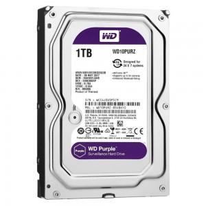 """HDD WD 1TB 3.5"""" 64MB SATA3 PURPLE"""
