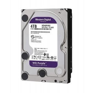 HDD WD 4TB 3.5'' 64MB SATA3 PURPLE
