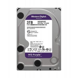 """HDD WD 3TB 3.5"""" 64MB SATA3 PURPLE"""