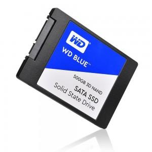SSD WD BLUE 500GB 2.5'' SATA3 3D