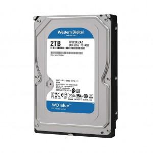 HDD WD 2TB 3.5'' BLUE SATA3 256 WD20EZAZ