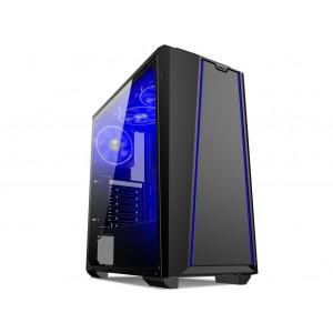 PC CASE MIDI PREDATOR PR08A USB3 T.GLASS WINDOW