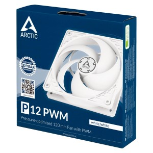 FAN ARCTIC COOLING 120MM P12 PWM WHITE