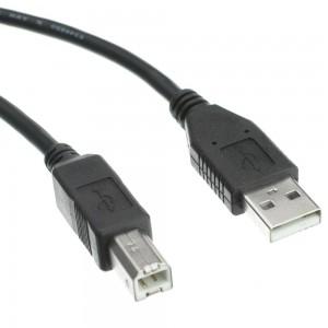 CABLE USB 2.0  AMale-BMale 3m