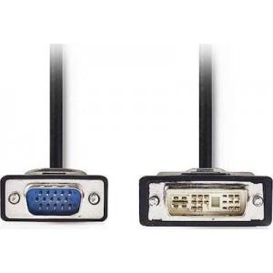 CABLE VGA DVI-ΑMale-HD15Male 2.0m