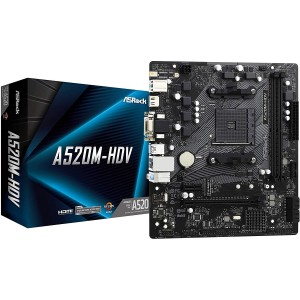 MBOARD ASROCK A520M HDV AM4 DDR4 mATX