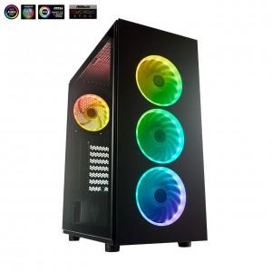 PC CASE FORTRON FSP CMT 340 PLUS MIDI GLASS W