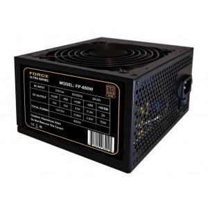 PSU FORCE ULTRA 650W 12'' FAN PCIE 80+ BRONZE