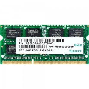 RAM APACER DDR3 8GB 1600MHz SO-DIMM
