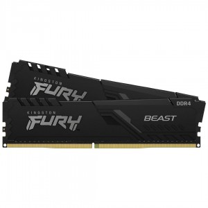 RAM KINGSTON DDR4 32GB (2x16) 3600MHz FURY BEAST